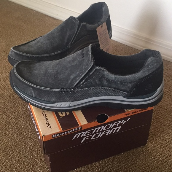 03e1276d Shoes | Mens Relaxed Fit Expected Avillo Skechers | Poshmark